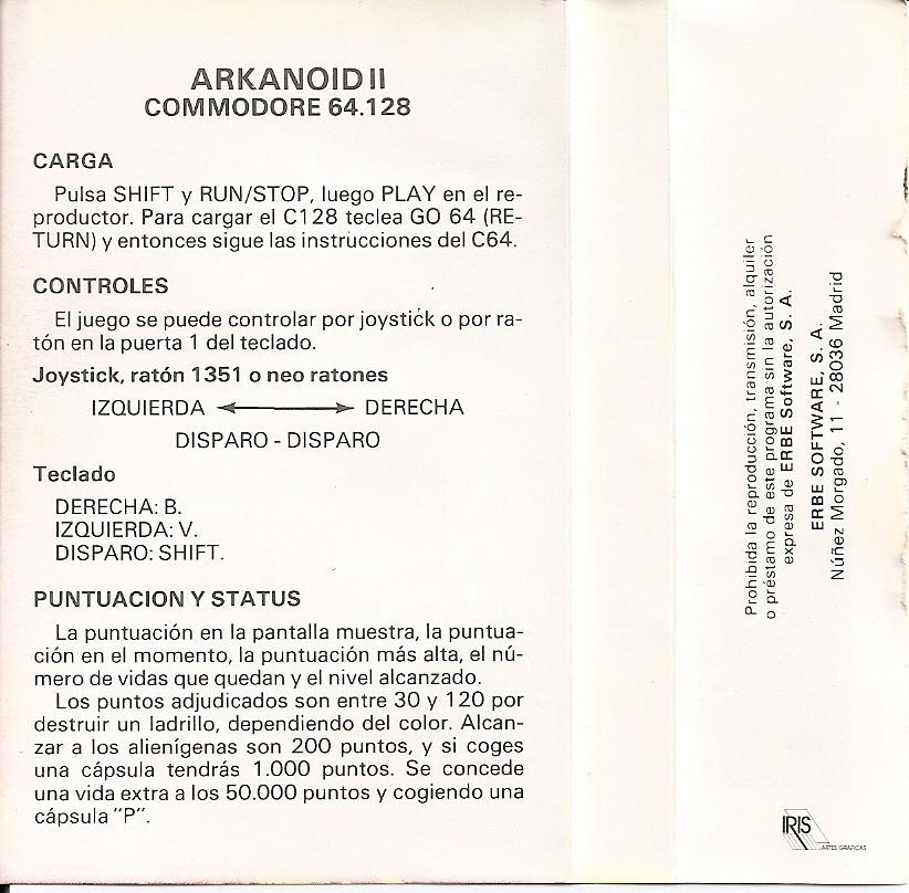 Arkanoid II - Revenge of Doh