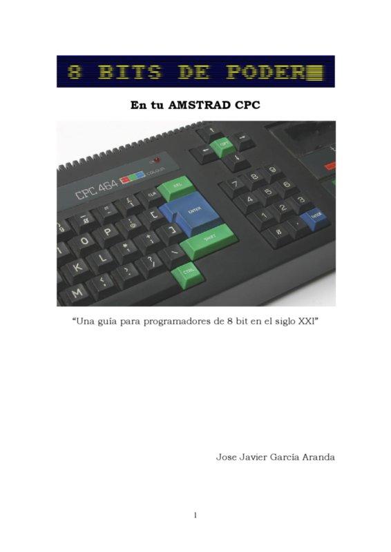 8 bits de poder - En tu AMSTRAD CPC