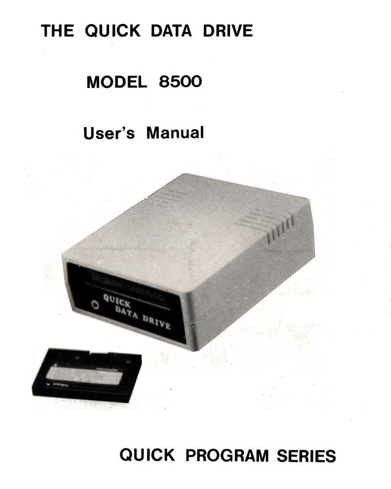Quick Data Drive Model 8500